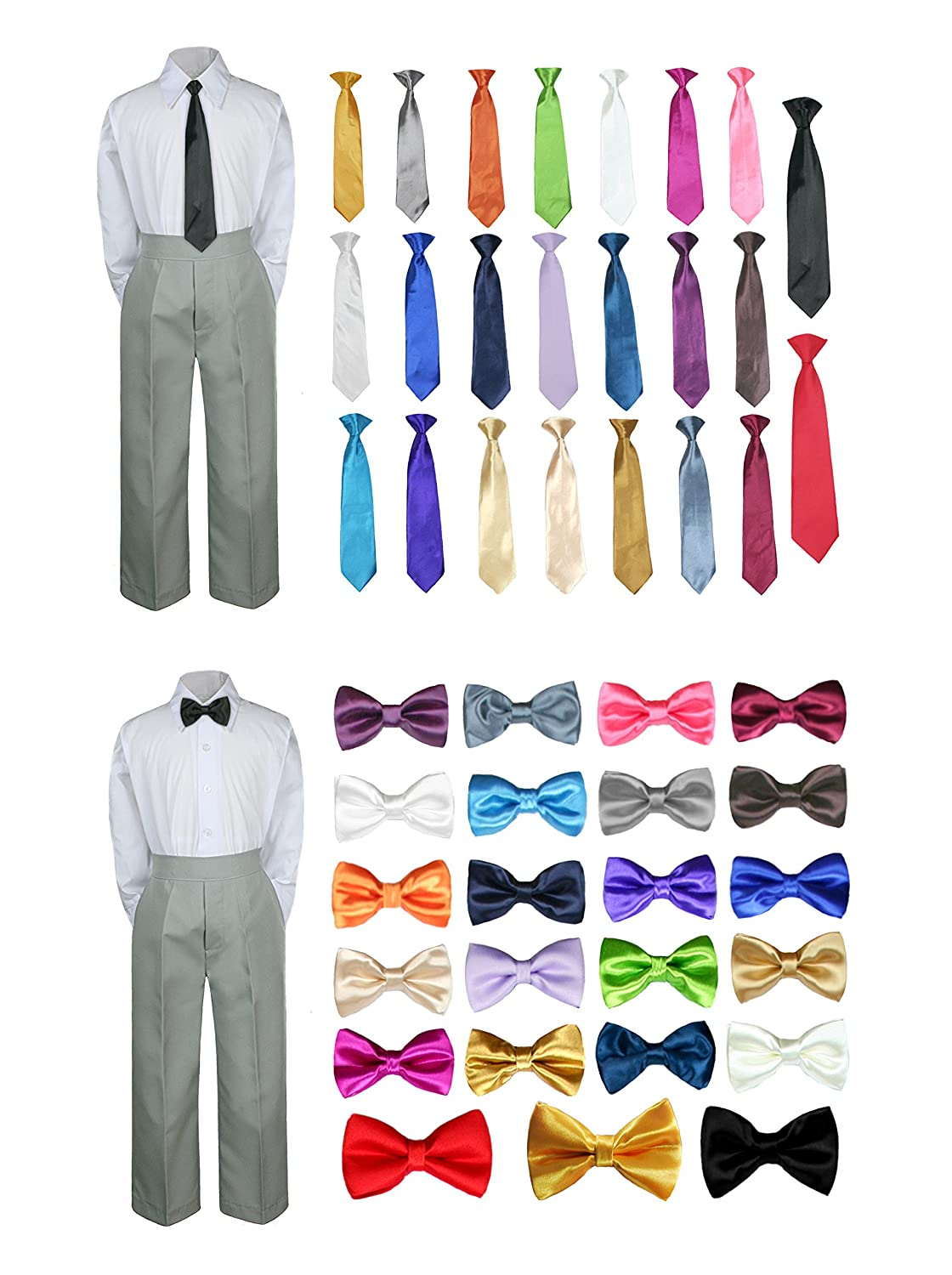 UNOTUX SUIT ベビーボーイズ ボーイズ B076HVJSRY Extra Large ( 18-24 Months)|Bow Tie Red Bow Tie Red Extra Large ( 18-24 Months)