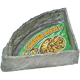 Zoo Med Reptile Rock Corner Water Dish, X-Large, Assorted Color