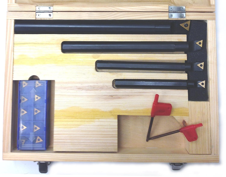 HHIP 1001-0731 31 Piece TPBN Indexable Boring Bar Set ABS Import Tools Inc.
