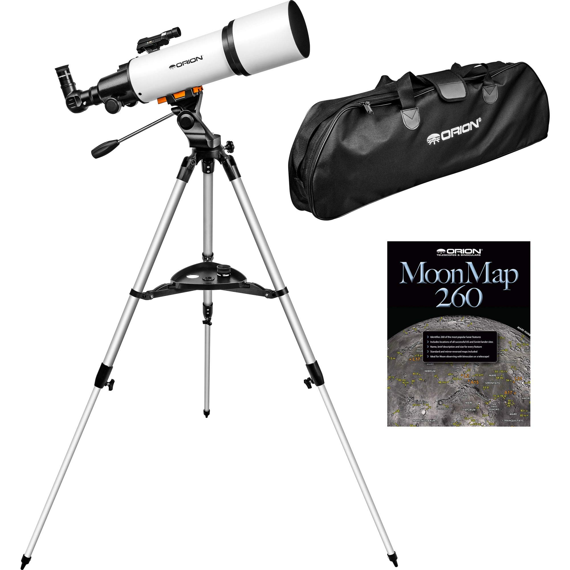 Orion StarBlast 102mm Altazimuth Travel Refractor Telescope by Orion