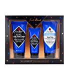 Jack Black - All Jacked Up - Deep Dive Glycolic Facial Cleanser, Clean Break Oil Free Moisturizer, Turbo Wash Energizing Cleanser, 3 Piece Gift Set