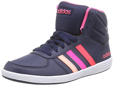 adidas Neo Baseline Vs Mid Womens Sneakers/Shoes-Blue-5