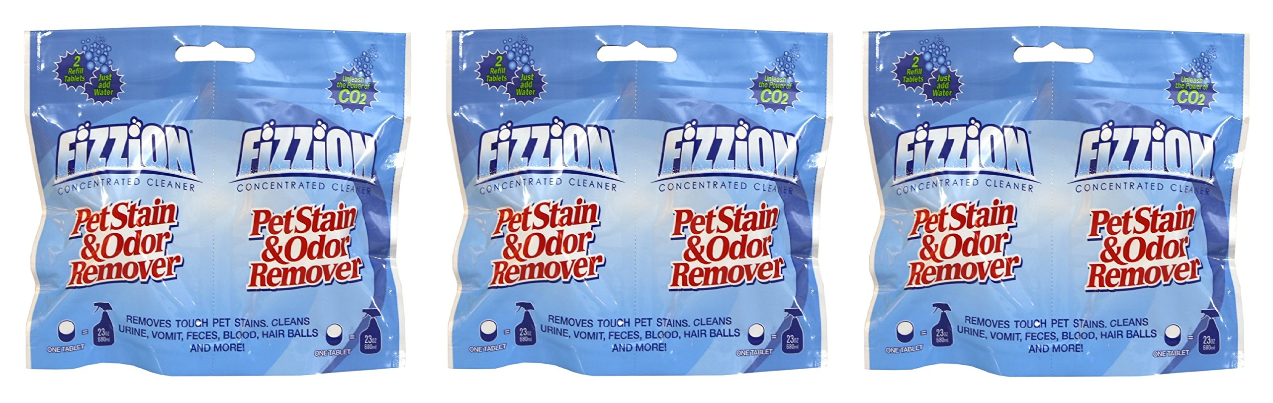 Fizzion Pet Stain & Odor Remover Refill Tablets (6-Pack)