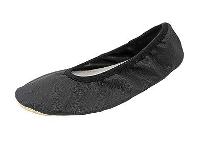 YUMP YUMPZ Basic #1plus Schwarz [Normale Passform] - Gymnastikschuhe Aus Deutschland Turnschläppchen/Ballettschuhe - in Gr.28 6cf2Oj