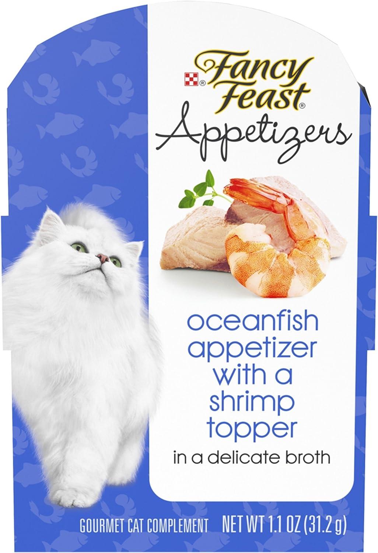 Purina Fancy Feast Appetizers Adult Wet Cat Food Complement