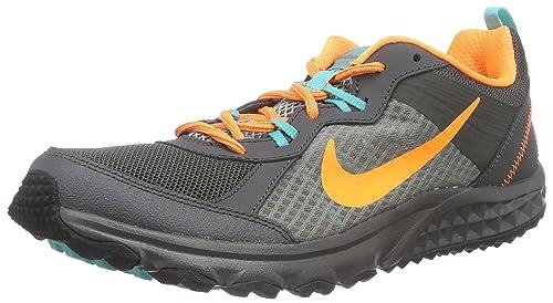 a7f10488c Nike Wild Trail - Zapatillas de Correr en montaña para Hombre, Color Gris  (Mid Fog/Brght CTRS-DST-lt RTR 015), Talla 41: Amazon.es: Zapatos y  complementos