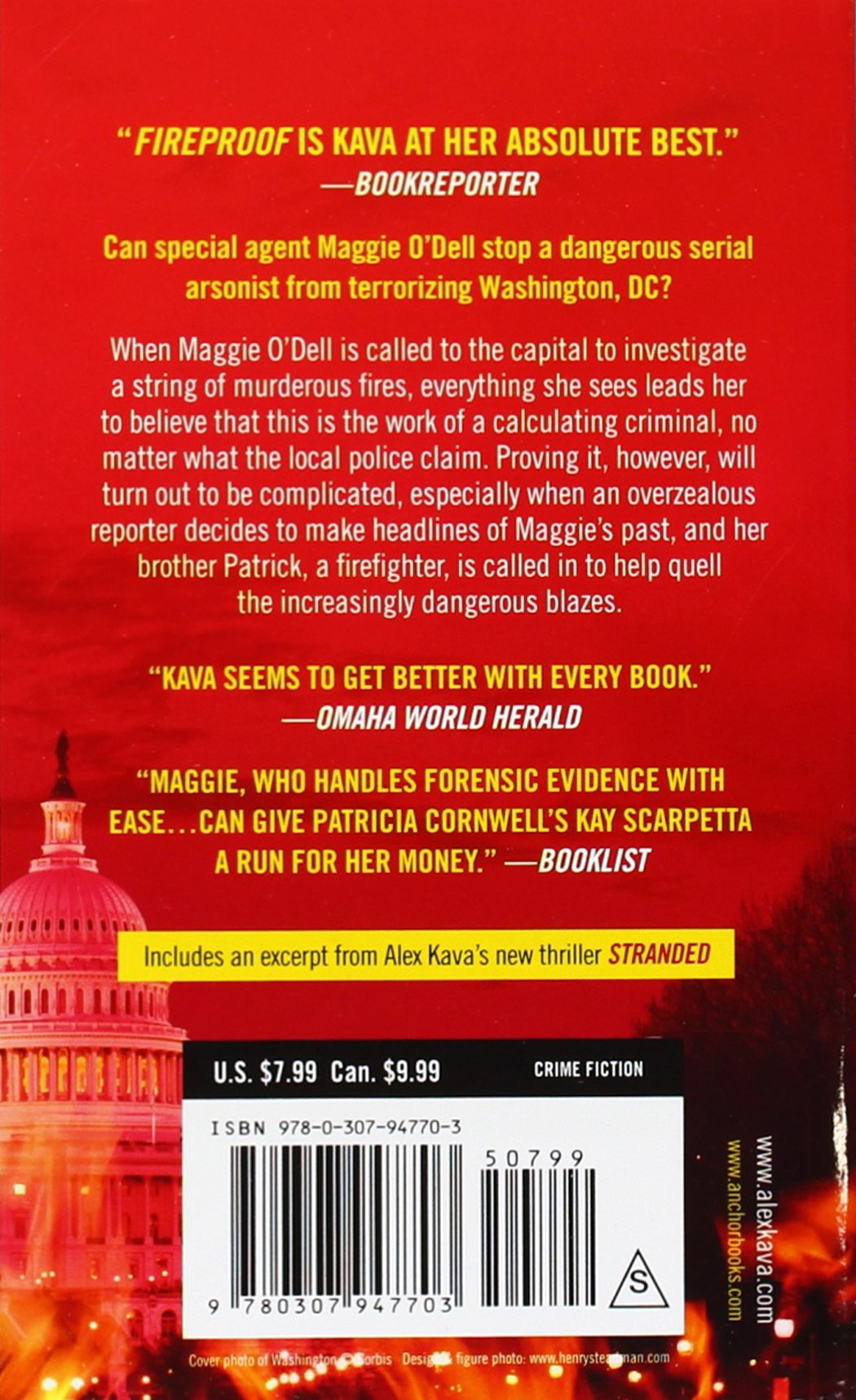 Fireproof: A Maggie O'dell Mystery: Alex Kava: 9780307947703: Amazon:  Books