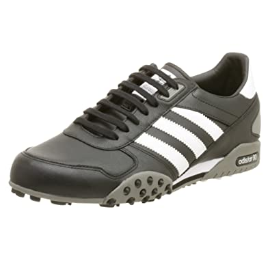 best website a948c 2821d adidas Originals Mens adiSTAR 80 Leather Running Shoe,Black WhiteStone,11.5