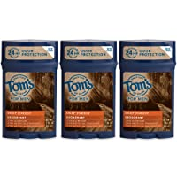 Deals on 3-Pack Toms of Maine Natural Mens Deodorant 2.25 Ounce