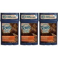 3-Pack Tom's of Maine Natural Long Lasting Men's Deodorant Stick