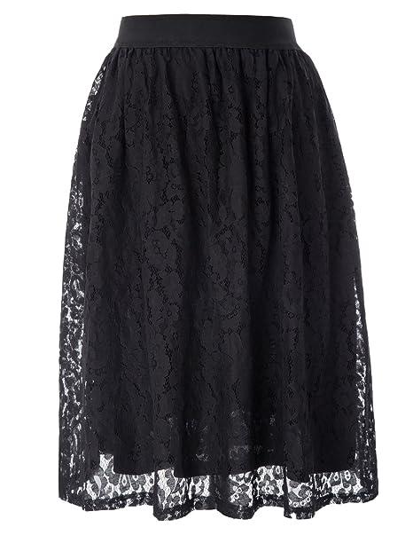 830c3c1685 GRACE KARIN Women Floral Skirt A Line Wear to Work Skirts CL010765 ...