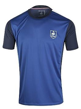 Equipe de FRANCE de football Polo FFF - Collection officielle Taille Homme M RjD31DI