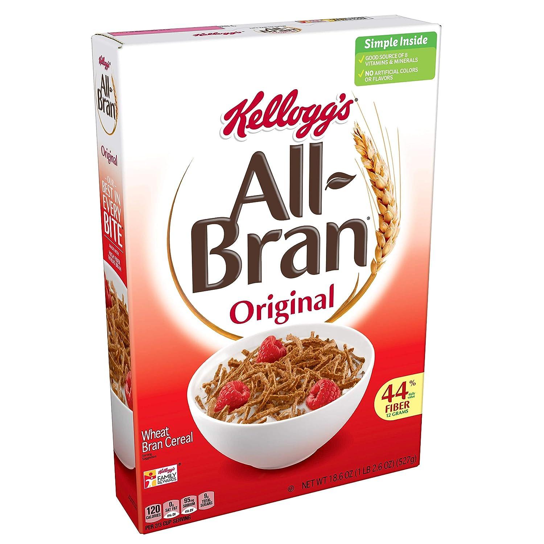 All-Bran Original Breakfast Cereal, 18.6 oz