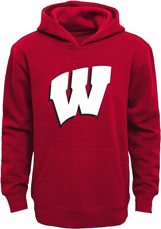 4 Brick Harvard Crimson Kids Small NCAA by Outerstuff Little NCAA Kids /& Youth Boys Team Logo Pullover Hoodie
