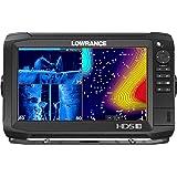 Lowrance HDS-9 Carbon - 9-inch Fish Finder No Transducer Model & C-MAP US Enhanced Basemap Installed