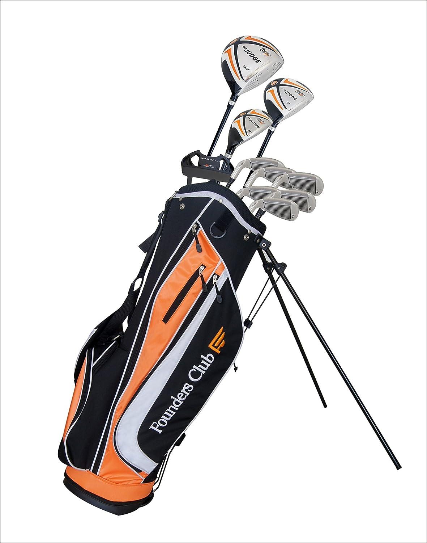Amazon.com: Founders Club el juez Set Completo de Golf con ...
