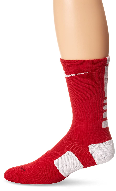 ナイキ(NIKE) ハイパーエリート バスケットボール クルー ソックス SX4801 B003OG77QC X-Large|Varsity Red/White/White Varsity Red/White/White X-Large