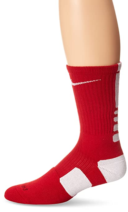 e86890444c36 Amazon.com   Nike Elite Crew Dri-Fit Basketball Sock   Athletic Socks    Sports   Outdoors