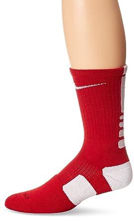 Nike Dri-Fit-Elite-Calcetines de Deporte para Hombre Rouge/Blanc Talla:XX-Large: Amazon.es: Deportes y aire libre