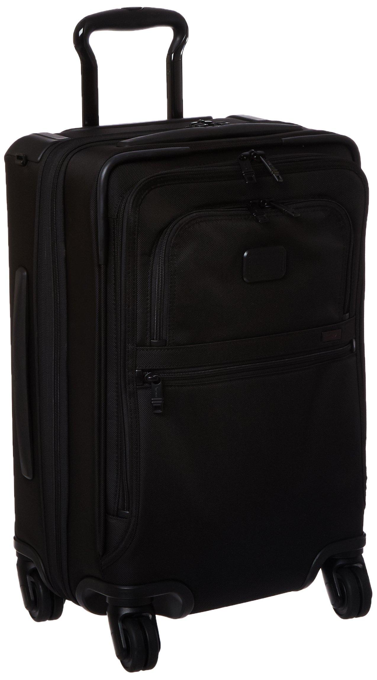 Tumi Alpha Ballistic Business 4 Wheel International Office Carry-On, Black, One Size by Tumi