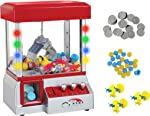 TSF TOYS Electronic Claw Toy Grabber Machine with LED Lights and