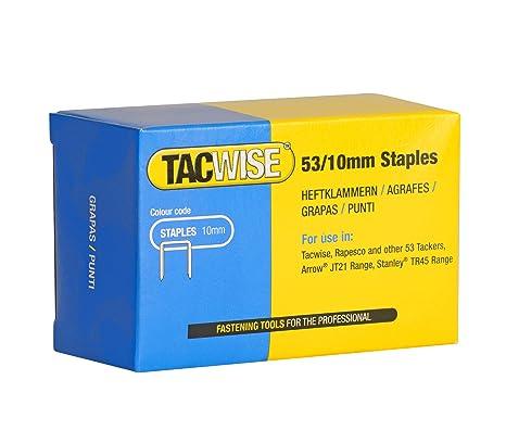 Tacwise 0431 - Caja 5000 grapas galvanizadas 53/10mm