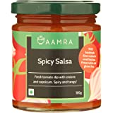 Aamra Spicy Salsa, No Artificial Preservatives, Gluten-Free- 180 grams