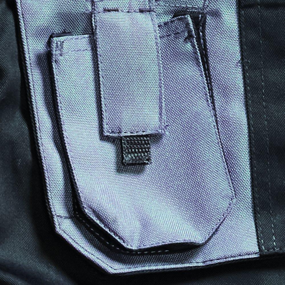 Pantaloncini da Lavoro con Tasche Grigio Navy Blackrock Colore: Nero