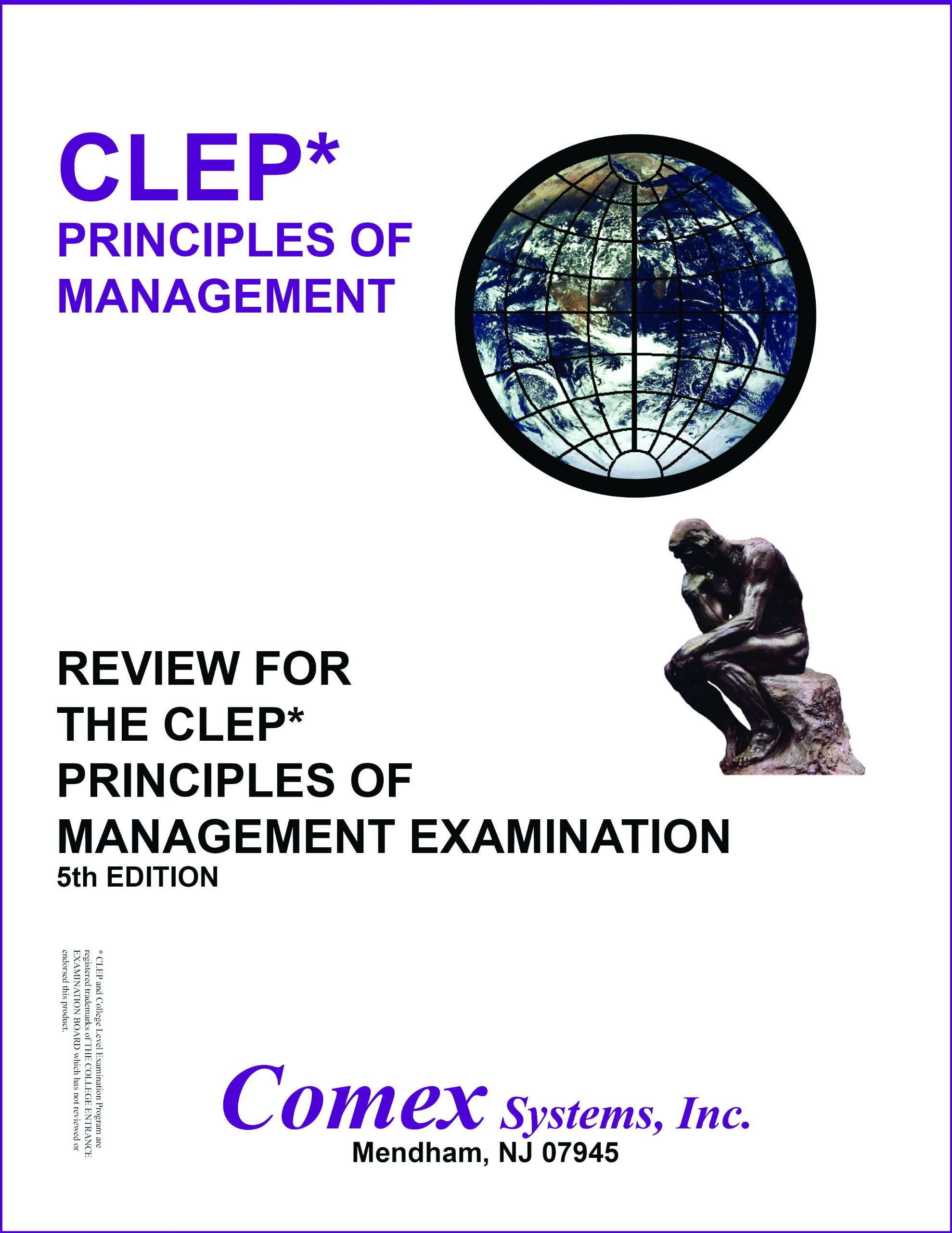 Review For The CLEP Principles of Management Examination
