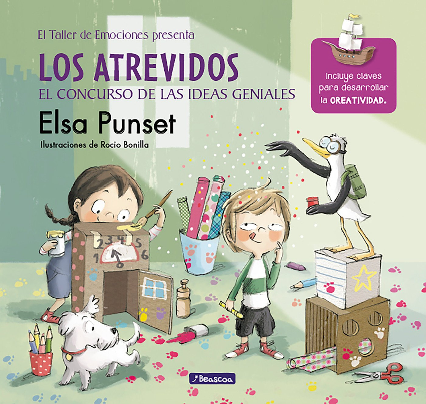 Los atrevidos y el concurso de las ideas geniales / The Daring and the Genius Ideas Contest (El Taller de Emociones  / Workshop of Emotions) (Spanish Edition) pdf