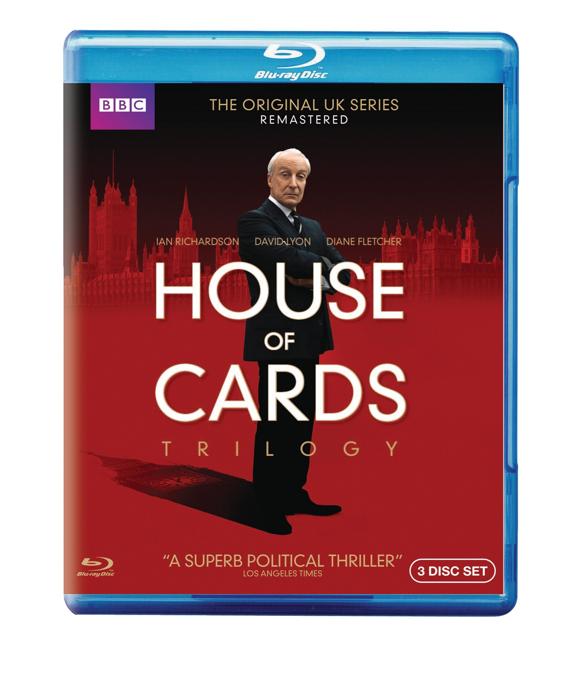 Blu-ray : The House of Cards Trilogy (Special Edition, 3 Pack, 3 Disc)