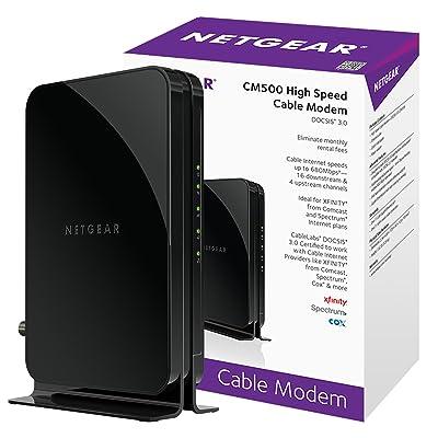 NETGEAR CM500-1AZNAS (16x4) DOCSIS 3.0 Cable Modem