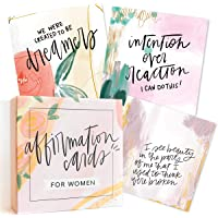 Affirmation Cards for Women: Beautifully Illustrated Inspirational Cards with Positive Affirmations to Help with…