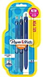 Paper Mate InkJoy Gel Pens, Medium Point, Blue Assorted, 3 Count