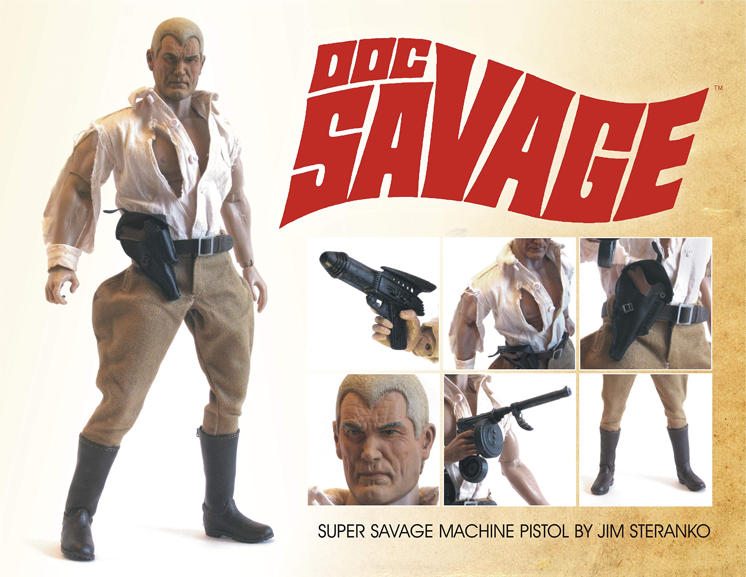 Go Hero and Executive Replicas Doc Savage Golden Age Editoin 1/6 Scale Action Figure by Go Hero and Executive Replicas