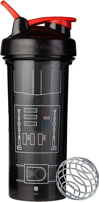 BlenderBottle Star Wars Pro Series 28-Ounce Shaker Bottle, Darth Vader Suit