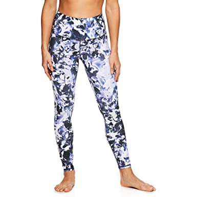 bc6522c192 Amazon.com: Gaiam Women's High Rise Waist Yoga Pants - Performance Spandex  Compression Leggings: Clothing