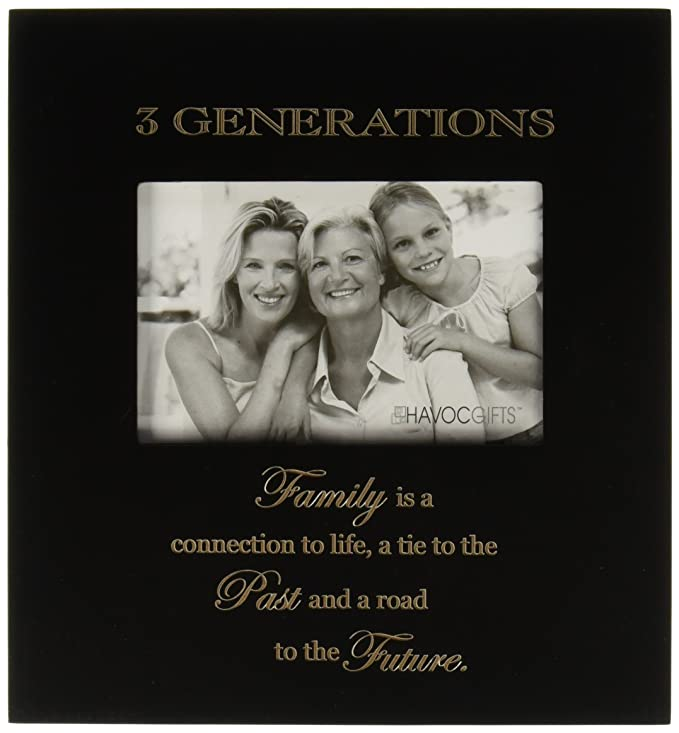Amazon.com - Infusion Gifts 3000-LB Three Generations Engraved Photo ...