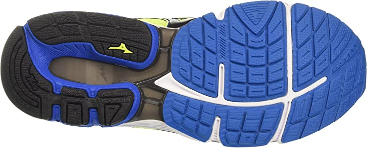 Mizuno Wave Inspire, Zapatillas de Running para Hombre, Multicolor (Safetyyellow/Black/directoireblue), 40.5 EU: Amazon.es: Zapatos y complementos