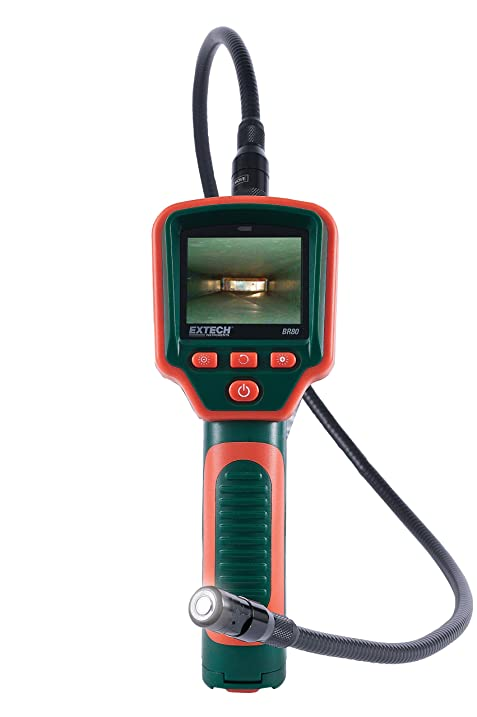 Amazon.com: Extech BR80 Video Borescope Inspection Camera: Home ...
