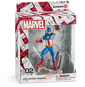 Marvel Captain America Diorama Character