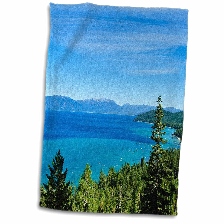15 x 22 3D Rose USA-California-Lake Tahoe Scenic-Us05 Mde0080-Michael Defreitas Hand//Sports Towel