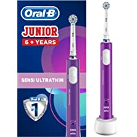 Oral-B Junior Elektrische Kinderzahnbürste, für Kinder ab 6 Jahren, lila