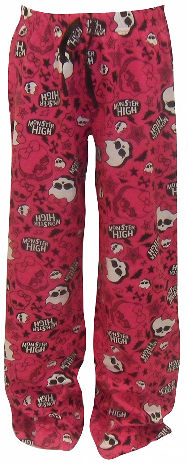 Monster High Girl's Pink Lounge Pants Age 7-13 Years