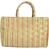 名物裂 金襴 和装 和柄 着物 ( きもの / キモノ ) 用 フォーマル ( 礼装 ) バッグ かばん 日本製生地 04 | A4 OK |