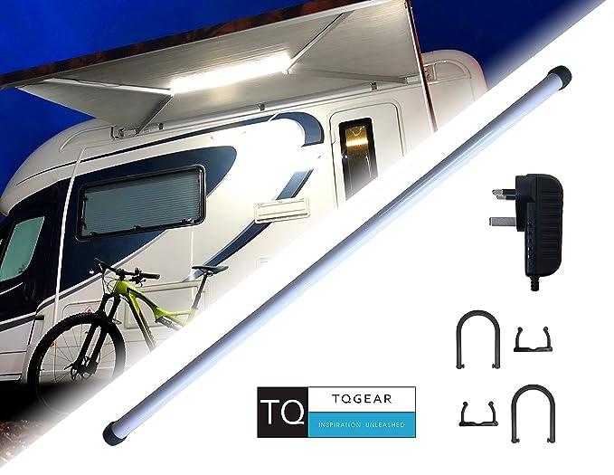 Tira de luces LED de 12 V para caravanas y autocaravanas, uso en interiores y