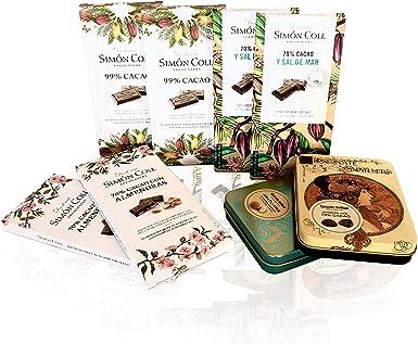 PACK CHOCOLATES VARIOS 5 SABORES Nº33 x8 (chocolates Simón Coll y Amatller): Amazon.es: Alimentación y bebidas