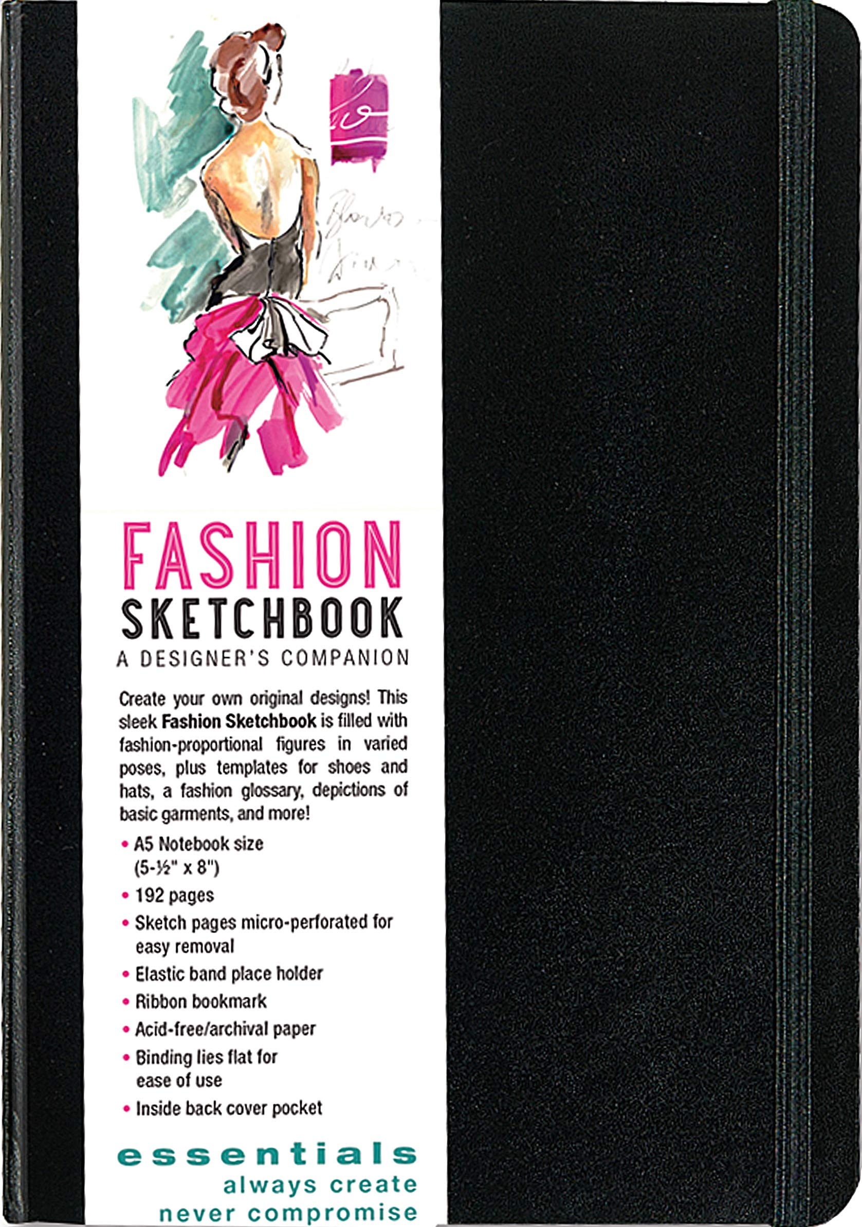 Essentials Fashion Sketchbook 366 Figure Templates To Create Your Own Designs Fashion Sketchpad Peter Pauper Press 8601407003179 Amazon Com Books