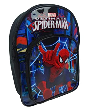 a9a8cac0809ab2 Spiderman Children's Backpack, 32 cm, 9 Liters, Black SPID001171 ...