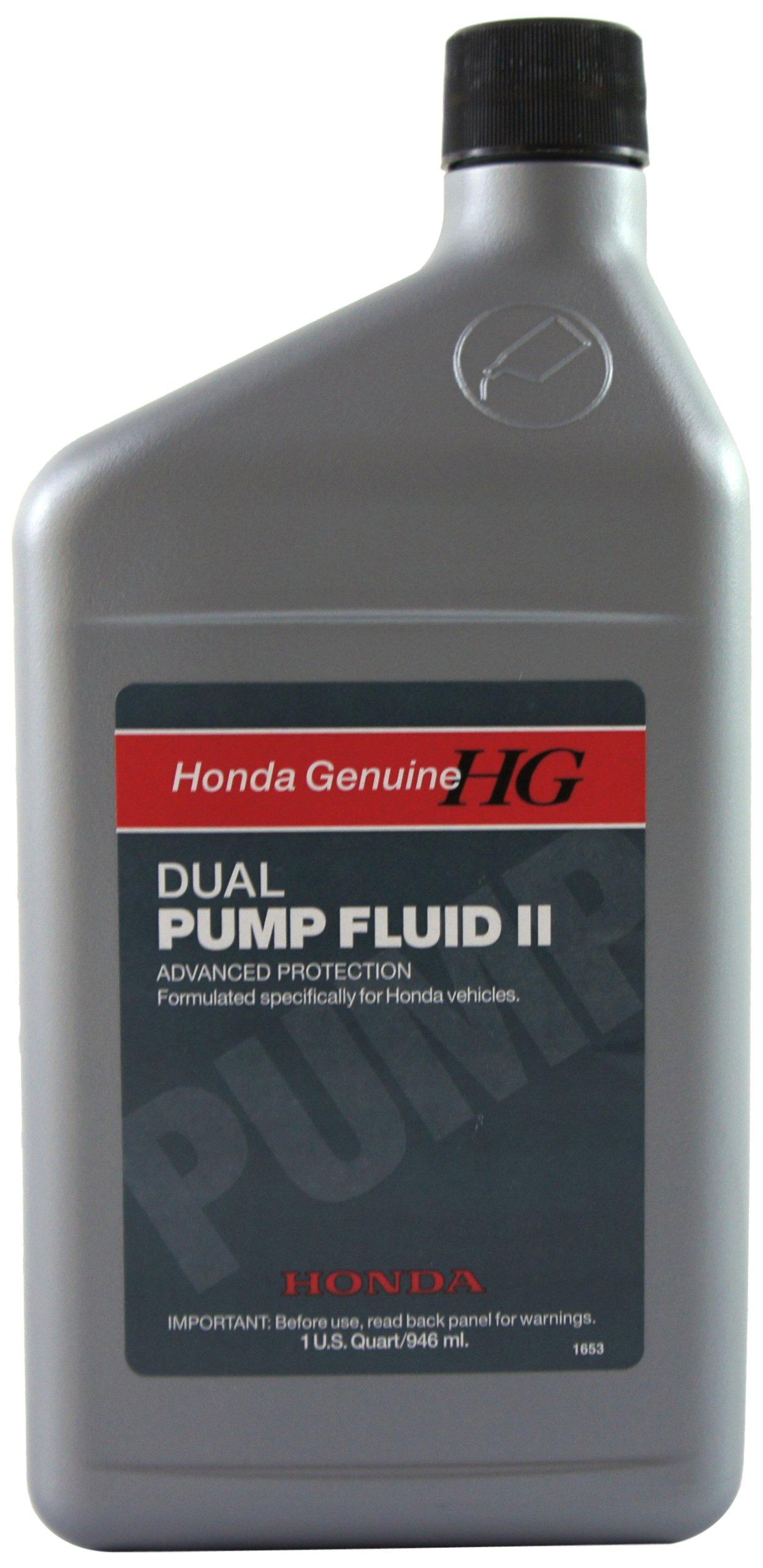 Amazon.com: Honda Genuine 08200-9007 Dual Pump II Differential Fluid:  Automotive